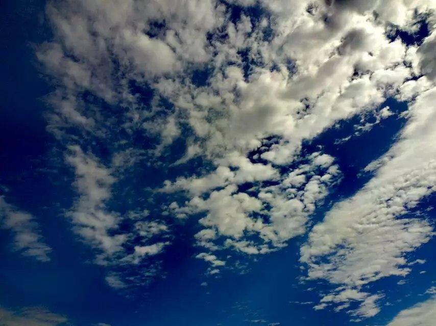 来浙几年,很少见如此蓝的天空